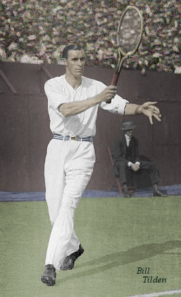 Bill Tilden in color