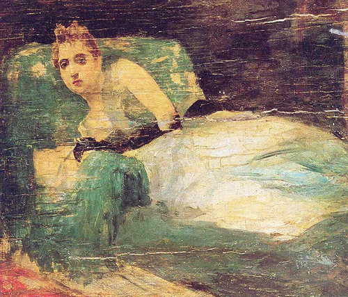 Despues del Baile by Juan Luna