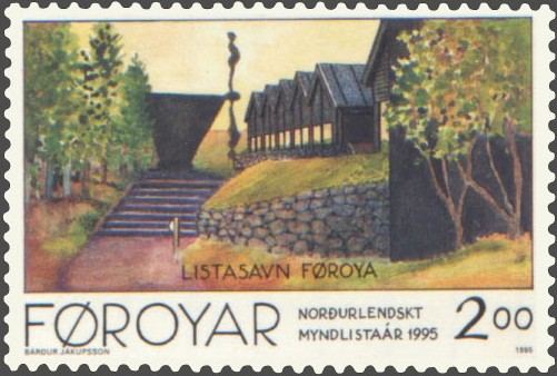 Faroe stamp 272 national art museum