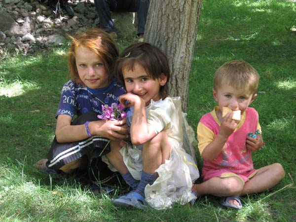 Tajik Pamiri children