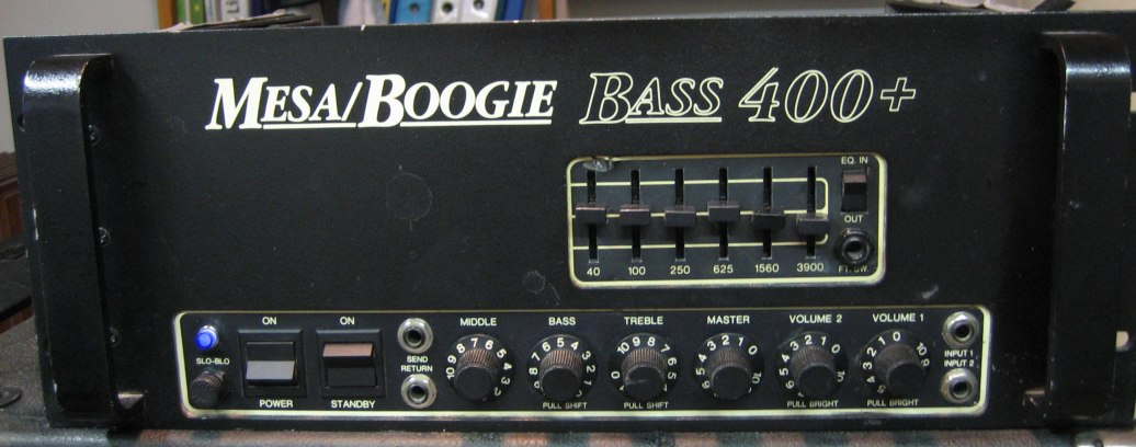 Mesaboogie bass 400plus front