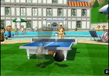 Wii Sports Resort Table Tennis