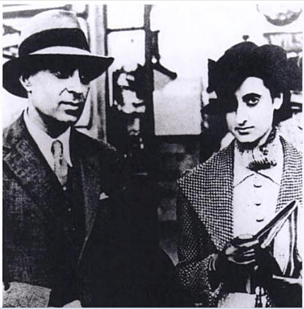 Nehru and Indira