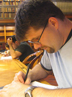 Will ludwigsen writing at new york public library