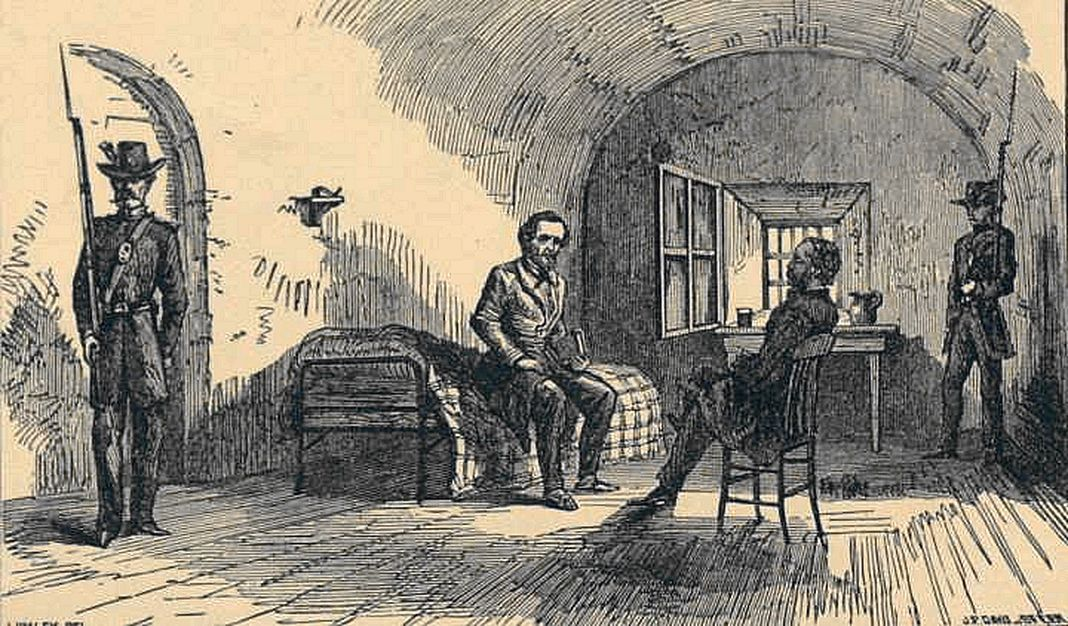1866 Jeff Davies Prisoner Illus