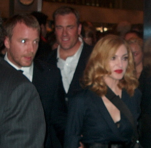 Guy Ritchie and Madonna (September 11 2005)