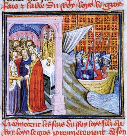 Louis vii and alienor