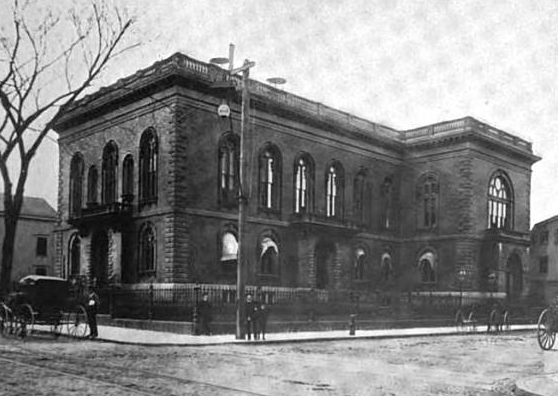 1899 NewBedford public library Massachusetts