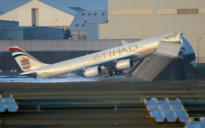 Etihad Toulouse accident