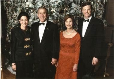 Bush Family Olympia Snowe Christmas