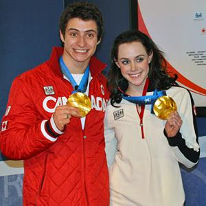 Scott Moir & Tessa Virtue at 2010 Winter Olympics 2010-02-22