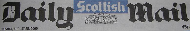 Scottish Daily Mail masthead