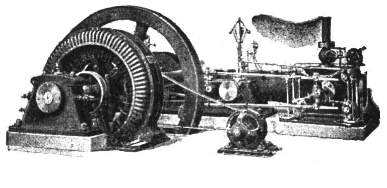 Murray Alternator with Belt-Driven Exciter