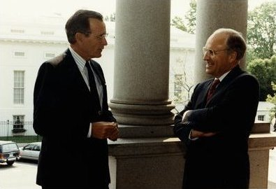 Bush and Cheney 1991