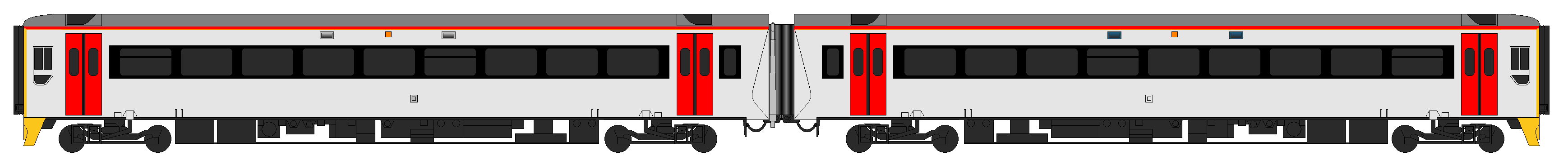 Class 158 in the Transport for Wales livery