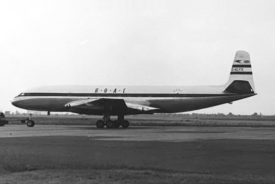 De Havilland Comet 1 BOAC Heathrow G-ALYX 1953