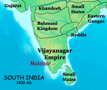 South India in AD 1400