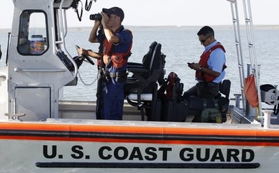 US Coast Guard Falcon Lake