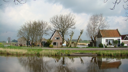 Neck, dorp in de gemeente Wormerland, Noord-Holland, Nederland (2008)