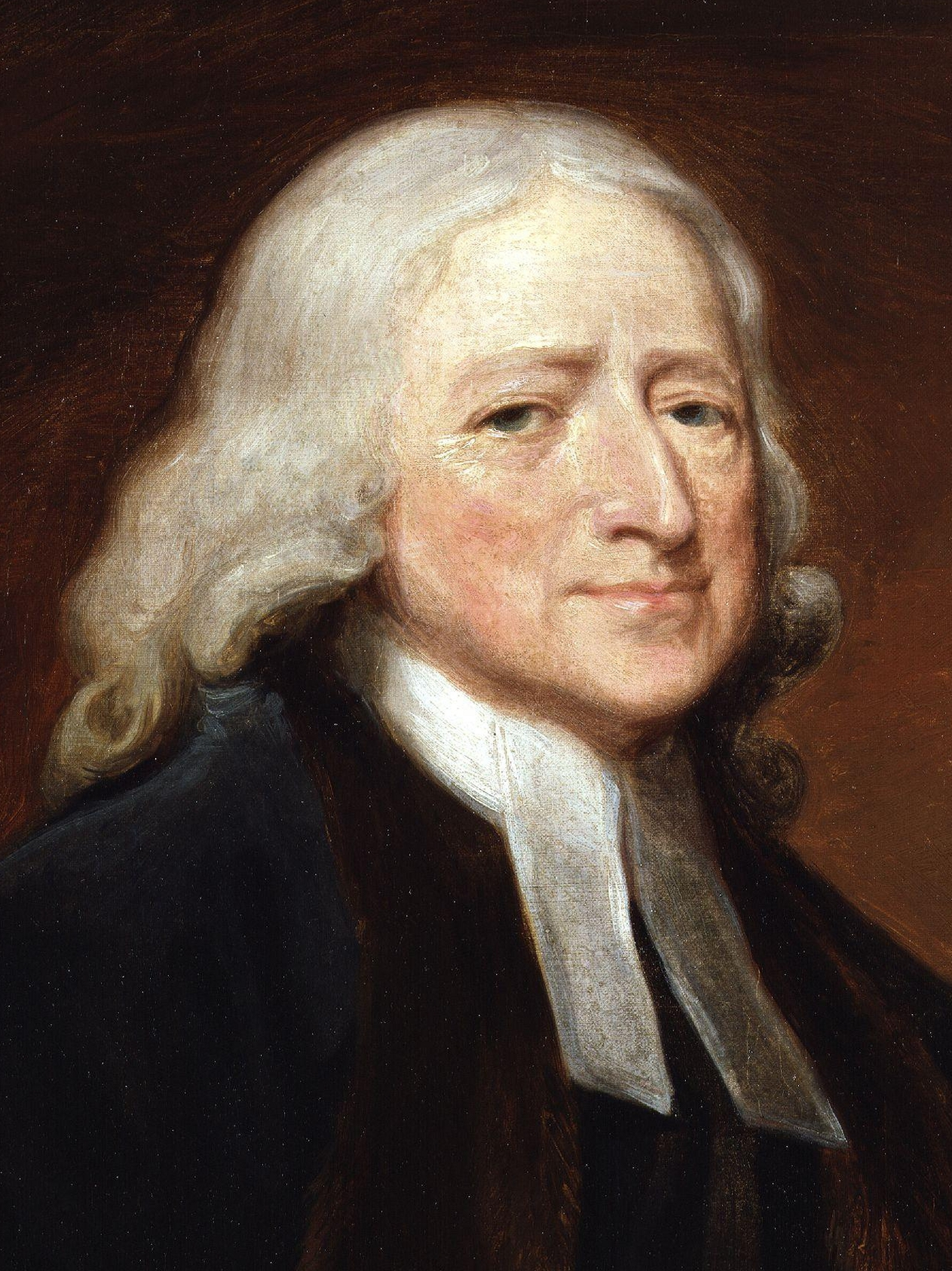 John Wesley by George Romney crop