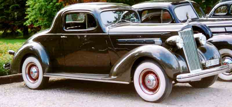 Packard 120 Eight Business Coupe 1936