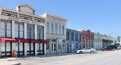 Downtown Hutto in 2006