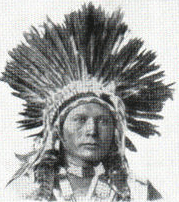 Ute American Indian Mongoloid