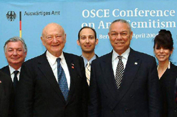 2004 OSCE Anti-Semitism Conference photo op cropped