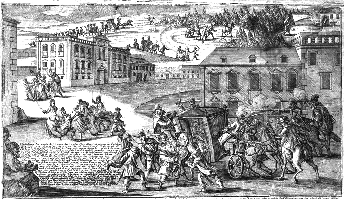 Kidnapping of Polish King Stanisław August Poniatowski in 1771