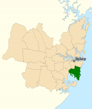 Division of Kingsford Smith 2010.png