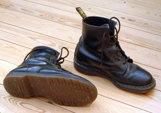 Dr Martens, black, old