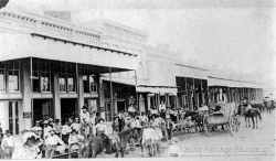 HHF Hutto downtown before cars-small