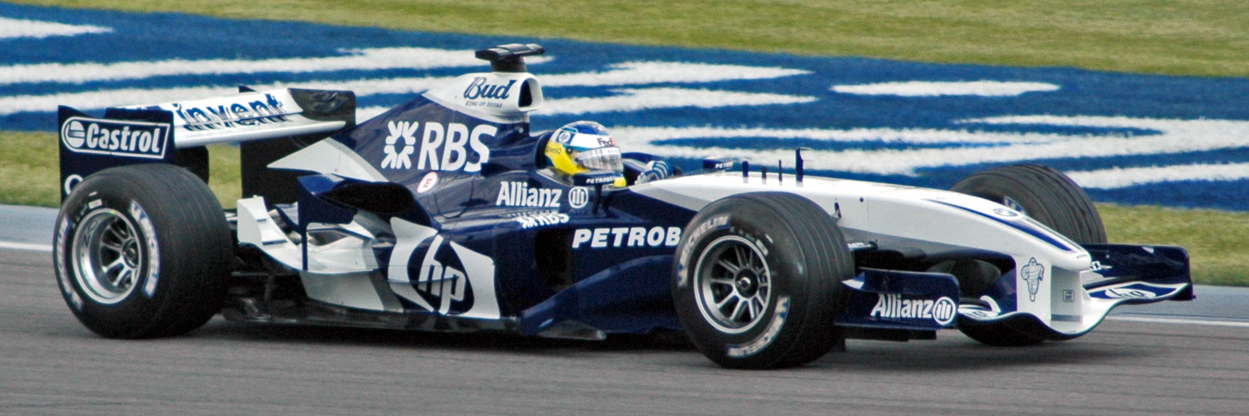 Heidfeld (Williams) in practice at USGP 2005