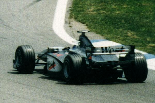 Mika Hakkinen in the 1998 Spanish Grand Prix