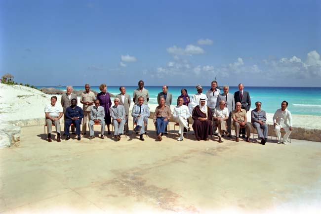 Heads of State Cancun Summit 1981