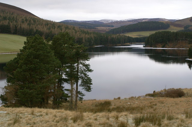 Northern end of Backwater Reservoir - geograph.org.uk - 1105159