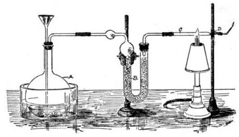 Marsh test apparatus