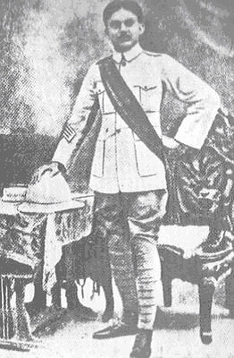 Nazrul in British Army