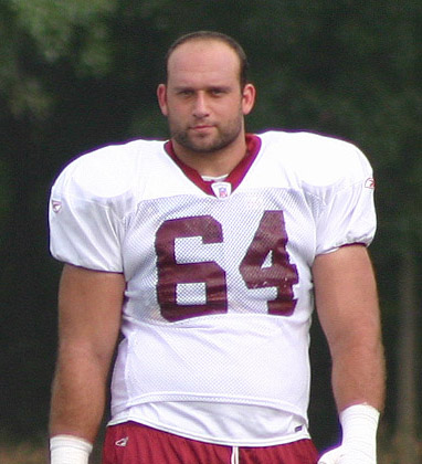 Lennie Friedman at Redskins training camp, August 2005