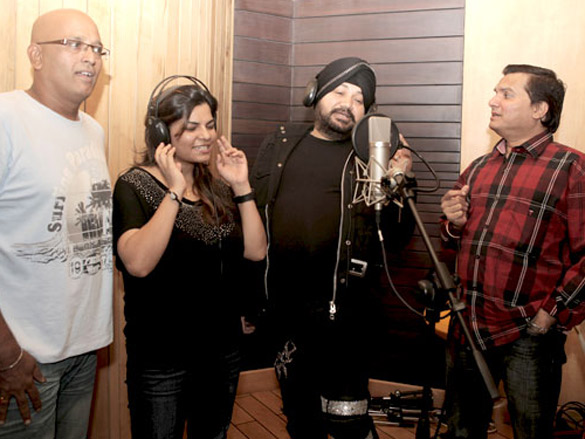 Recording for Chaalis Chauraasi