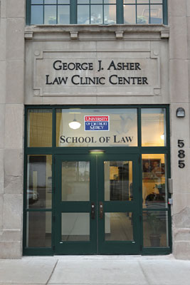 UDM Asher Law Clinic Center entrance