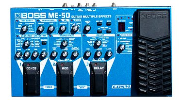 Boss ME 50 Multi Effects Pedal