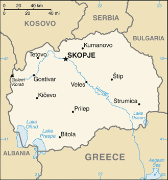 Macedonia-CIA WFB Map