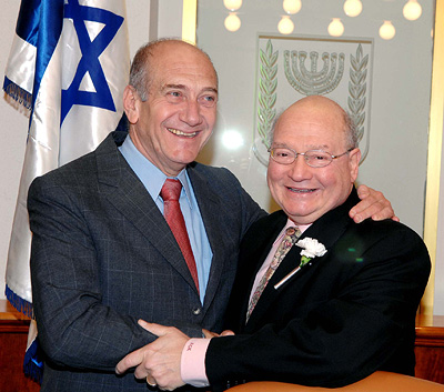 Olmert and Ackerman