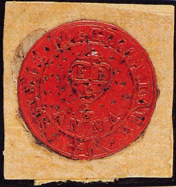 Red Scinde Dawk stamp