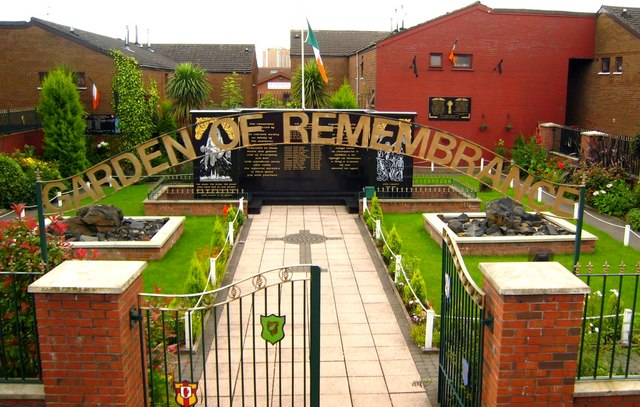 Garden of Remembrance, Falls Road - geograph.org.uk - 520802