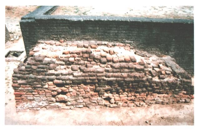 Lothal bricks in drainage