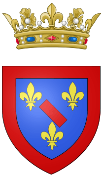 Coat of arms of the Prince of Conti