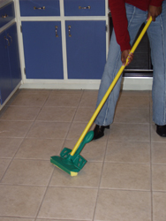 Disinfection with mop