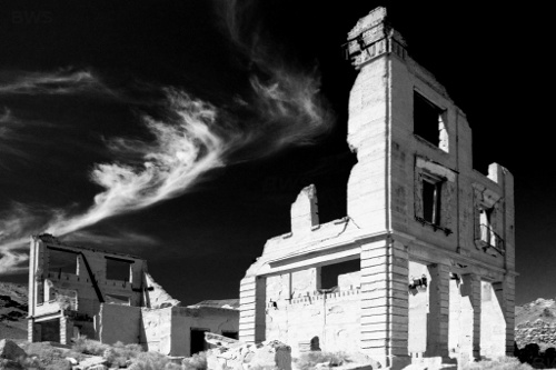 A363, Rhyolite, Nevada, USA, John S Cook and Company building, 2004